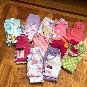 Bundle of 11 pairs of pajamas!
